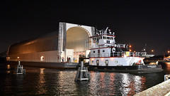 Rolling on a River: NASAs Barge Pegasus Returns to Michoud (NASA's Marshall Space Flight Center) Tags: nasa nasas marshall space flight center journey mars launch system sls core stage nasas michoud assembly facility pegasus barge stennis