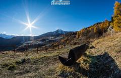 Torgnon e la sua balconata... (Albi Nikon) Tags: relax pausa sole raggi tranquillit easy day festa time vda torgnon autunno colori autunnali