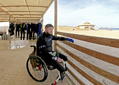 04.11 13 (KnyazevDA) Tags: diver disability undersea padi paraplegia amputee underwater disabled handicapped owd aowd scuba