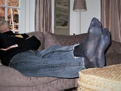 Mondays! (Sockbud) Tags: man jeans socks