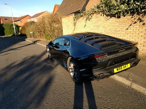 Lamborghini side