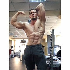 muscle damien_locc (Havana Miami) Tags: biceps muscle men hot flex flexing