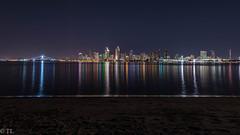 Blue Hour in San Diego (silberne.surfer) Tags: california usa nikon sandiego urlaub nikkor coronado kalifornien langzeitbelichtung sandiegoskyline 2015 uww lte nikkorafs1635mmf4g nikond750