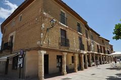 Astudillo (Palencia). Plaza Mayor (santi abella) Tags: españa palencia castillayleón astudillo