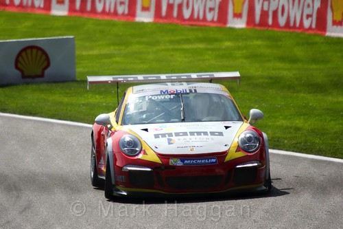 Race 2 in the Porsche Mobil 1 Supercup at the 2015 Belgium Grand Prix