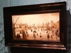 Ijsvermaak, circa 1610 - Hendrick Avercamp (zaqina) Tags: den haag mauritshuis hendrick avercamp ijsvermaak