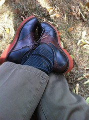 Burlingtons 3 (rblue73) Tags: leather bass saddleshoes burlingtons saddleoxfords blackandbrown