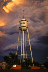 Colors of the Sky (Chains of Pace) Tags: storm oklahoma sign clouds panhandle guymon