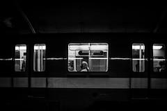 Subway Bnw (Gabriel.Provost) Tags: city blackandwhite bw white canada black men underground subway blackwhite nikon noiretblanc mtl montreal september bnw