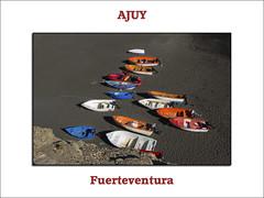 Ajuy (Fuerteventura) (JLCB PHOTO) Tags: azul puerto mar fuerteventura playa canarias islas roca