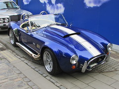Dax Tojeiro AC Cobra Shelby 427 JVG349M (Andrew 2.8i) Tags: bristol breakfast meet queen queens square avenue drivers club ac cobra shelby 427 replica kit car kitcar classic sports sportscar dax tojeiro blue