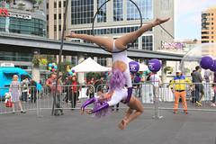 Style (Cindy's Here) Tags: toronto ontario canada canon hoop style acrobatics dundassquare elegance