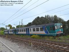 ALn663 a Signa (Salvatore Romano d'Orsi - Savvo19) Tags: italia toscana stazione treno fs signa trenitalia ferrovia 2015 regionale micette leopolda 11933 veicolo aln663 savvo19