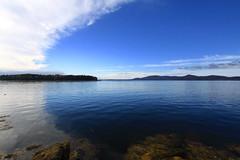 Islesboro, Maine (Erica Robyn) Tags: ocean blue nature water clouds landscape maine islesboro camdenhills