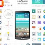 Smartphone GUIの写真