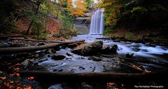 decew in its' glory (alternate version) (Rex Montalban Photography) Tags: autumn fall colours waterfalls hdr decew rexmontalbanphotography