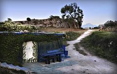Castro cabaa (emubla) Tags: camino castro cantabria cabaa choza castrourdiales emubla