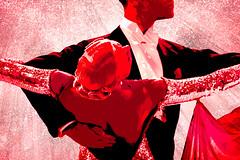 Shall We Dance? (lensletter) Tags: red dance couple elegant waltz ballroomdancing redandwhite elegance theawardtree kreativepeoplegroup lensletter