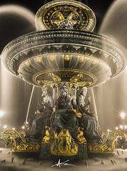 La fontaine des mers (Terres de lumire photographie) Tags: paris by night canon eau cityscape place jet concorde fontaine nuit navigation poselongue fontainedesmers 5dmiii