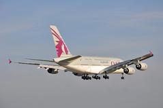 QR0003 DOH-LHR (A380spotter) Tags: london heathrow landing finals airbus a380 arrival approach 800 qr lhr qatar threshold qatarairways qtr egll  athba 09l shortfinals dohlhr runway09l  a7apa msn0137