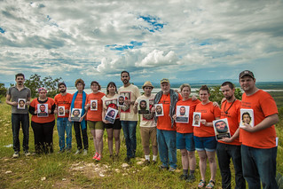 Witness Against Torture Activists Hold Photos of Guantánamo Detainees in Cuba