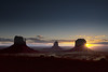 Monument Valley sunrise (so1150) Tags: sunrise nikon monumentvalley mittens d810 navajotriballand