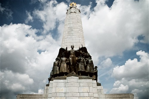 World War II Memorial at Rue des Quatre Bras in Brussels