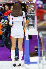 (seua_yai) Tags: people cute sexy cars beautiful fashion promotion thailand women asia southeastasia bangkok models motorcycles autoshow thai lovely branding carshow motorshow thaipeople thaigirl thaiwomen thailady bangkokgirl impactmuangthongthani promogals bangkokmotorexpo2010