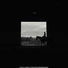 (James A. Vitullo Photography) Tags: horses horse woman white black building window girl silhouette barn buildings square ride shapes silhouettes dirt riding rides shape