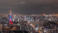 Nightview_20151224.jpg (t_scenery) Tags: olympus tokyotower roppongi nightview skydeck omd tokyocityview
