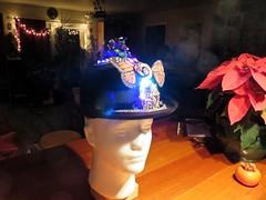 The Magic Hat comes to life (fabola) Tags: light art hat lights duck magic fabio leds maker canard phyllis talisman millvalley arduino magichat natalina adafruit neopixel pataphysical