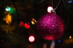 Decorations (steelegbr) Tags: christmas decorations holiday tree church religious lights worship derbyshire religion seasonal decoration christian event leds baubles firtree sawley allsaintschurch erewash