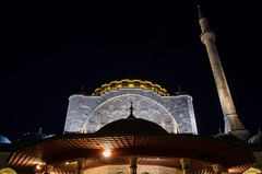 Mihrimah Sultan Mosque (mazharserdar) Tags: istanbul turkey edirnekap mihrimahsultanmosque mihrimahsultan mimarsinan mosque minaret cami