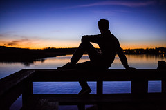 Relaxing (Evan's Life Through The Lens) Tags: camera 5d mark mk three 3 iii beautiful lens glass 2470mm f28 zoom telephoto wide vibrant color sunset amazing pose friends outdoors outside orange blue water ocean river marsh night dark bright sun set