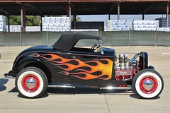 So-Cal Speed Shop Open House 2016 (USautos98) Tags: 1932 ford roadster hotrod streetrod kustom flames
