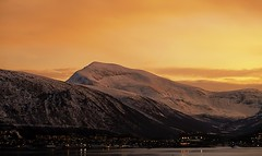 28 (Sergio Eschini) Tags: tromso viaggio travel norvegia normay snow december inverno winter crepuscolo natura landscape porto pier sunset sky tramonto neve