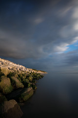 Caldy beach (twodeeswildlife) Tags: wirral canon hightide bigstopper