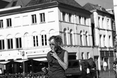 Smoking girl (Thibaut Ghils) Tags: 7d canon canon7d sigma street tournai belgique belgium