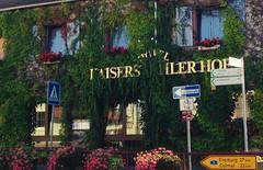 Breisach (micky the pixel) Tags: breisach altstadt gebude building hotel urbannature wegweiser deutschland germany kaisersthlerhof