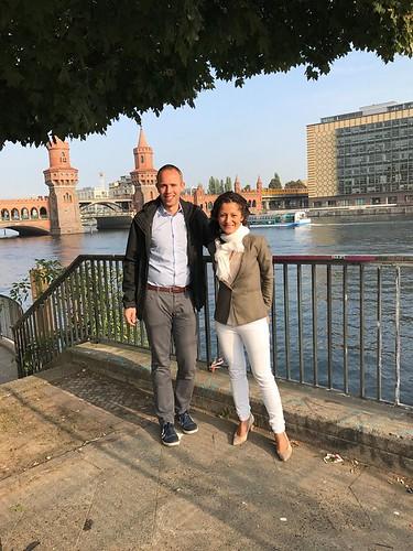 Besichtigung des angespannten Wohnungsmarktes in Berlin-Kreuzberg mit meiner Kollegin Cansel Kiziltepe MdB.