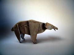 Bear - Eiji Sakai (Rui.Roda) Tags: origami papiroflexia papierfalten ours urso oso bear eiji sakai