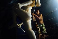 Painting Ogoh-Ogoh Statue, Bali Indonesia (AdamCohn) Tags: adamcohn bali balinese balinesehinduism indonesia ogohogoh airbrush paint painting statue wwwadamcohncom
