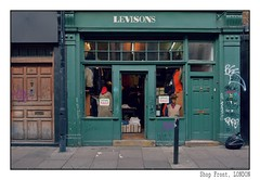 Shop Front, Shoreditch (junepurkiss) Tags: shopfront oldshop vintageshop shoreditch london mannequin mannequinhead