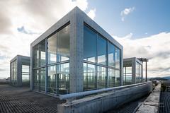A part of Nagaragawa Convention Center (長良川国際会議場) (christinayan01) Tags: architecture building perspective tadao ando japan concrete convention center
