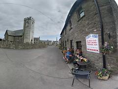 The Kings Arms, Llansaint (deadmanjones) Tags: zjlb nackuk thekingsarms pub allsaintschurch churchtower llansaint