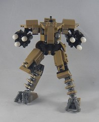 Trident front (donuts_ftw) Tags: lego mecha mech moc robot military missile metalgear