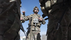 Calm amidst chaos (BagramAF) Tags: 455thairexpeditionarywing 455airexpeditionarywing 455thaew 455aew freedomssentinel resolutesupport usforcescentral afcent afghanistan bagram bagramairfield usairforce unitedstatesairforce usarmy unitedstatesarmy usaf usa uscentralcommand centcom parwan