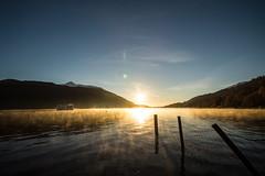 _DSC0629 (adam_reynolds) Tags: scotland loche lomond sunrise mist steam evaporating