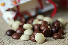 Dutch tradition/Fotoklik de Sint. (eleni m) Tags: fotoklik monthlycontest desint tradition indoor kruidnoten chocola paperbag bag paper chocolate milk dark white dof