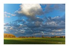 FLACHLAND mit Sturmwolken (Babaou) Tags: deutschland niederrhein kreiskleve kevelaer sturm wolken rural dxo nrw